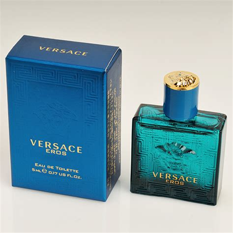versace perfume eros eau de toilette mini mens cologne parfum fragrance 5ml ebay