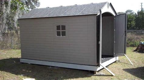 orlando handyman installs lifetime 8 x 12 5 outdoor storage shed model 6402