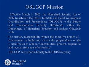 Office for state and local government coordination-and ...