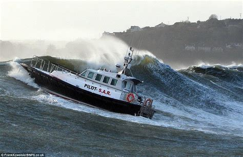 Driving Boat In Waves by Get Ready For Another Month Of Bad Weather Stormy Sea