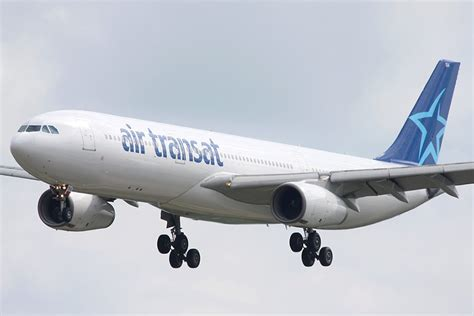 air transat launches its summer flight schedule to brussels