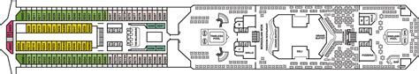 carnival freedom lido deck deck plan carnival freedom