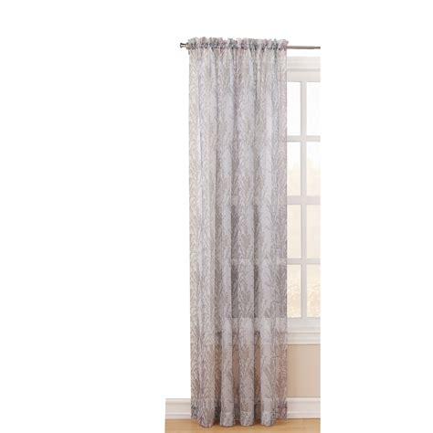 Light Filtering Thermal Curtains by Shop Style Selections 84 In L Light Filtering Blush Rod