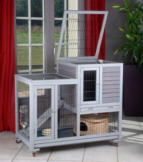 cage pour lapin d interieur clapier lapin d interieur en bois neuf r 233 f as4416