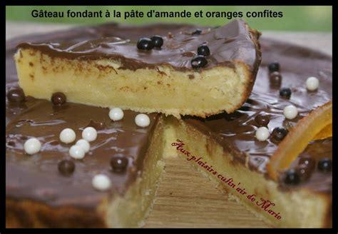 fin tragique du g 194 teau fondant a la p 194 te d amande et aux oranges confites aux plaisirs culin