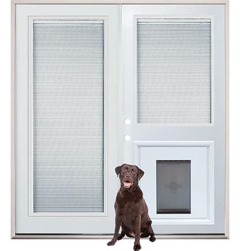 patio back doors with mini blinds and pet door insert pre installed home