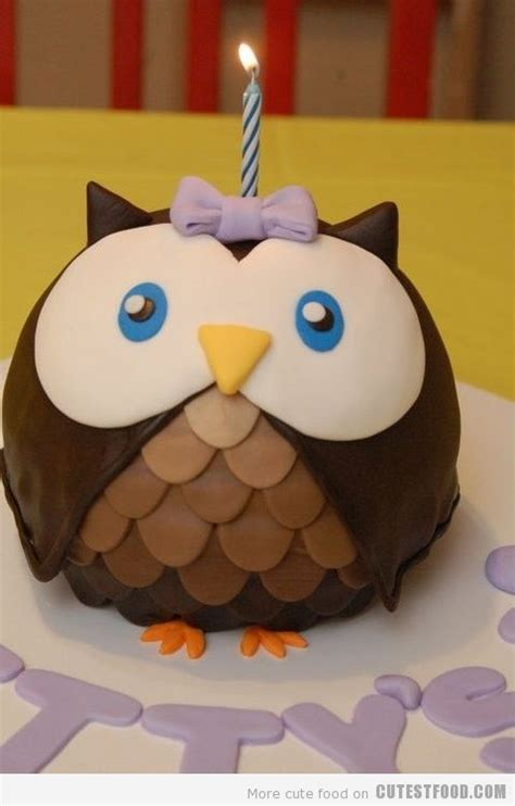 owl birthday cake outside the box owl cake in four easy steps