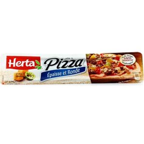 herta p 226 te 224 pizza epaisse et ronde 375g houra fr