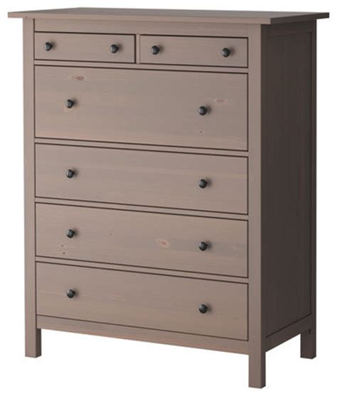 hemnes 6 drawer chest modern dressers by ikea