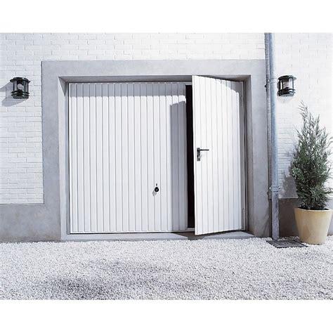 porte de garage basculante manuelle h 200 x l 240 cm leroy merlin