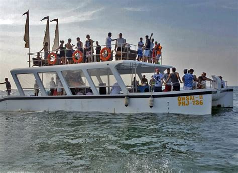 Goa Boat Party by Sail Away Party Boat Atlantis Water Sports