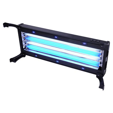 24 quot fluorescent actinic t5 ho aquarium light fixture 24w x marine led 96w 144w