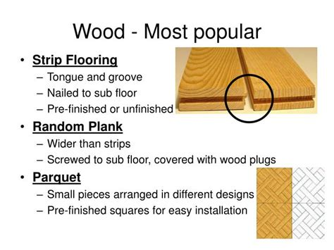 ppt types of flooring powerpoint presentation id 1005392