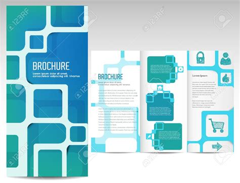 Brochute Template Free Download by 3 Fold Brochure Template Free Download The Best
