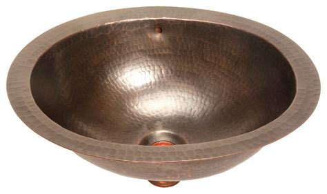foret model bfc11 orb small oval lavatory self copper sink bathroom sinks new