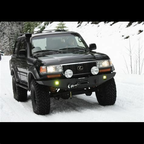 Slee Fj80 by 1990 1997 Fj80 Fzj80 Winch Bumper Kit
