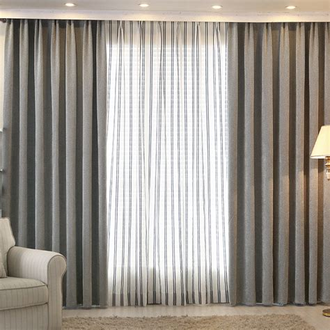 shade window blackout curtain fabric modern curtains for