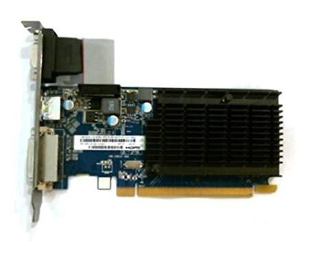 sapphire technology hd5450 hm carte graphique amd pci e 1 go ddr3 vram hdmi dvi i vga w