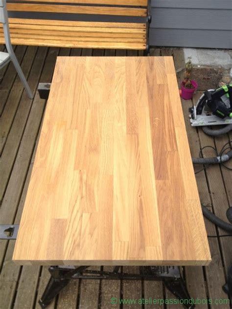table basse plan de travail atelier du bois