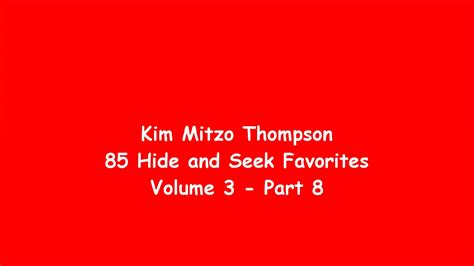85 Hide And Seek Favorites Volume