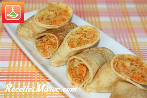 recette cr 234 pe sal 233 e v 233 g 233 tarienne recettes maroc