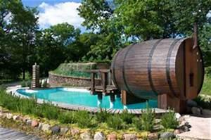 Fass Als Gartenhaus : die besondere sauna saunen im holzfass garten und outdoor sauna ~ Markanthonyermac.com Haus und Dekorationen