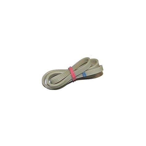 courroie pour lave linge poly v 1049mm j 4 dents pour siltal