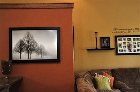 paint colors living room accent wall burnt orange paint color burnt orange accent wall