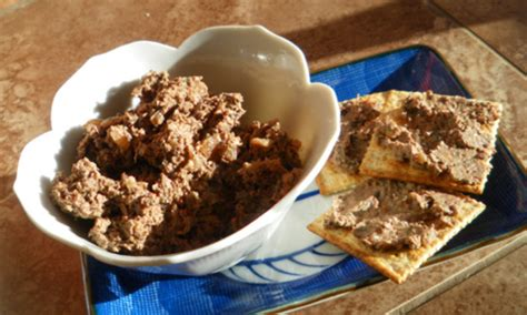 and easy chicken liver pate recipe food