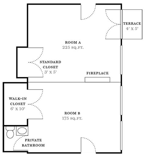 what is a split floor plan real estate floor plan miller samuel real estate appraisers