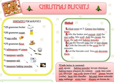 recettes anglaises noel images