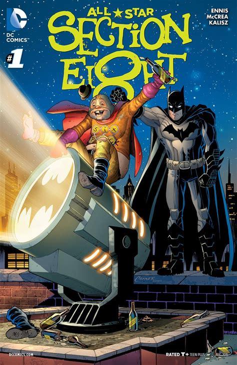 Graphic Bits Reviews Batman #41, Allstar Section 8 #1