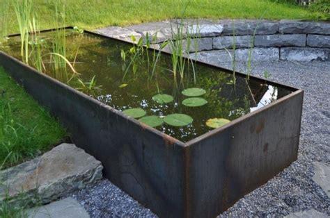 Garten Wasserbecken Metall|knechtgarten Wasser Im Garten