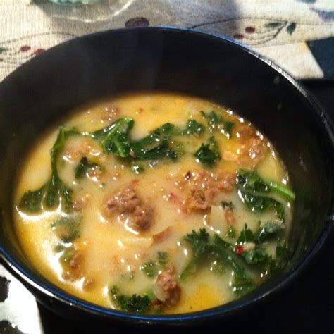 What Is Olive Gardens Wedding Soup Called olive garden style zuppa toscana wedding soup
