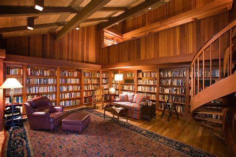 Home Library : Building A High-tech Library At Home-mansion Global