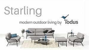 Gartenmöbel Modern Design : design gartenm bel starling video outdoorm bel aus edelstahl youtube ~ Markanthonyermac.com Haus und Dekorationen