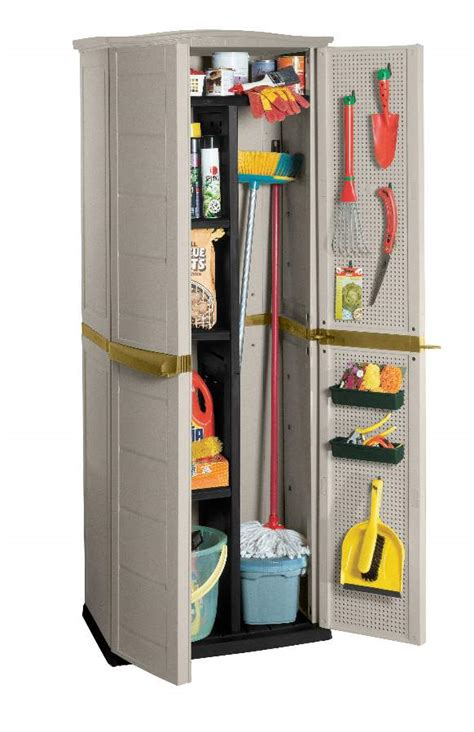Suncast Storage Cabinet Shelves by Outdoor Storage Cabinet Keter S Neat Compact Solution
