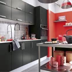 meuble de cuisine noir delinia d 233 lice leroy merlin