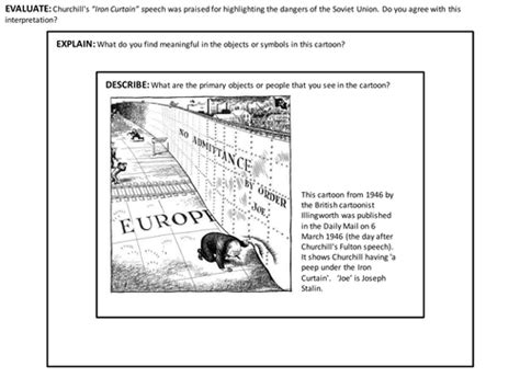 iron curtain and and novikov telegrams by uk teaching resources tes