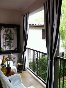 Günstige Terrassen Ideen : die besten 25 outdoor vorh nge ideen auf pinterest terrassen vorh nge au enbereich vorh nge ~ Markanthonyermac.com Haus und Dekorationen