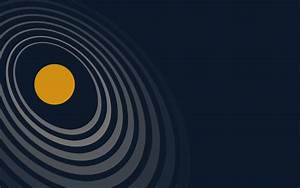 Solar System, Minimalism Wallpapers HD / Desktop and ...