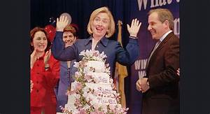 Hillary's 68! A little cake and ice cream on her birthday ...