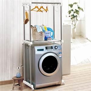 Regal Für Waschmaschine : waschmaschine stauung racks und waschmaschine regal und waschmaschine ablageboden kleiderb gel ~ Markanthonyermac.com Haus und Dekorationen