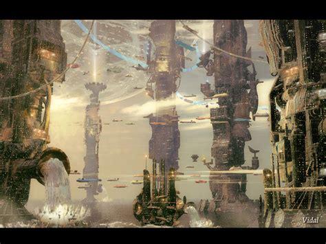 design wallpapers modern science fiction artwork 3d artist