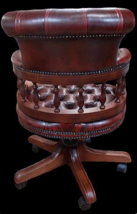fauteuil de bureau anglais captains longfield 1880