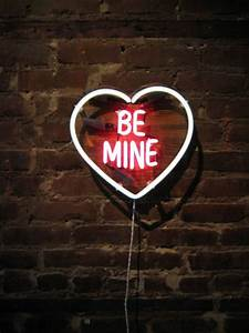 BE MINE Neon Sign Ready-made by MarcusConradPoston on Etsy ...