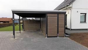 Aluminium Carport Mit Abstellraum : reihencarport und carport mit seitlichem abstellraum carporthaus ~ Markanthonyermac.com Haus und Dekorationen