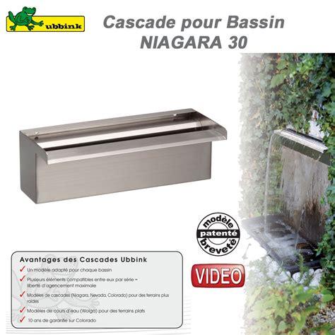 cascade de bassin de jardin ext 233 rieur niagara 30 ubbink 1312085 ubb