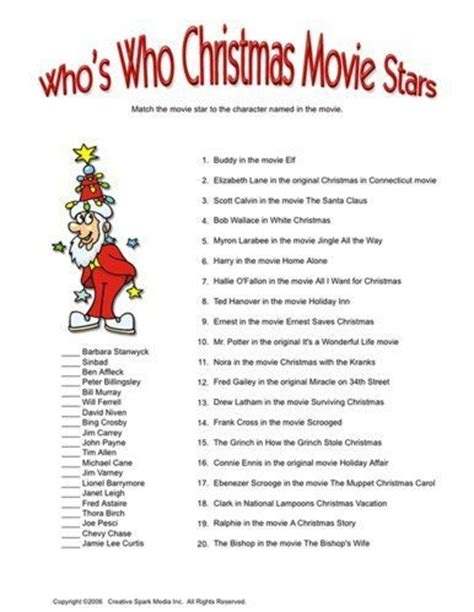 Best 25+ Christmas Movie Trivia Ideas Only On Pinterest  Christmas Trivia, Christmas Games Free