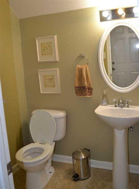 small half bathroom ideas on basis of partially